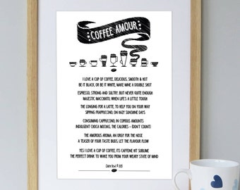 Coffee print | Coffee Art | Coffee Art Prints | Coffee Lovers Gift | Coffee Wall Art | Coffee Lover | Coffee Sign | Mothers Day Gift |