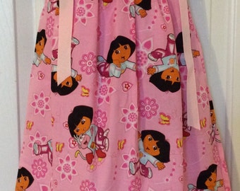 Dora The Explorer Pillowcase Dress Size 18M
