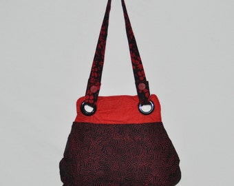 June Red & Black Bag