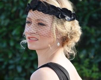 "Birdcage veil ""Magnific"" / bridal headband"