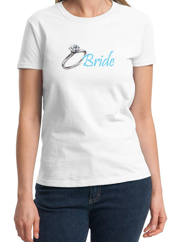 Bride (with Ring) Ladies T-Shirt