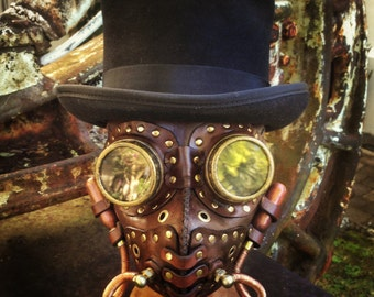 Gas Man Steampunk mask