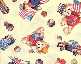 RJR Fabrics - Yankee Doodle Bear