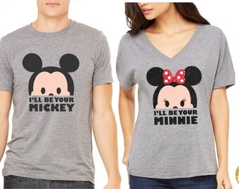 I'll Be Your Mickey / Minnie Magical Couple Shirts - Magical Matching Shirts
