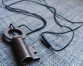 Vintage key necklace - Antique key necklace - Skeleton key necklace - Key pendent necklace - Etc.......