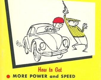 Original 1950's Speed Tunning Book ( Souping the Volkswagen), VW , GERMAN CAR