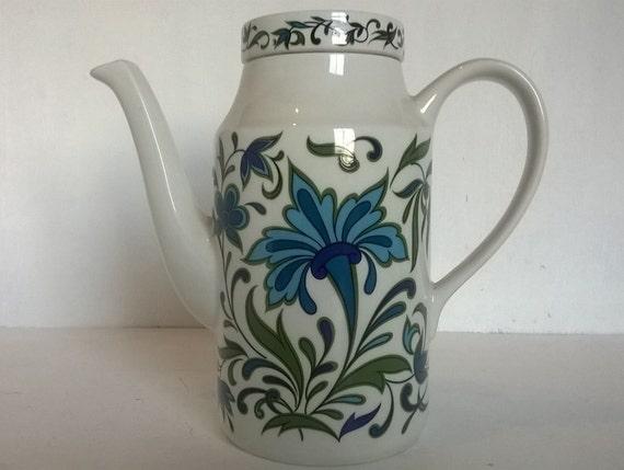 Coffee Pot Meaning In Spanish : Retro mod coffee pot Midwinter Spanish Garden Jessie Tait