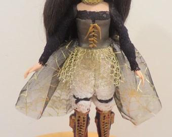Ghouella OOAK art doll