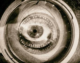 Vintage Photo print poster silent movie still photograph 1920s film, cinema A Man With A Movie Camera, Dziga Vertov
