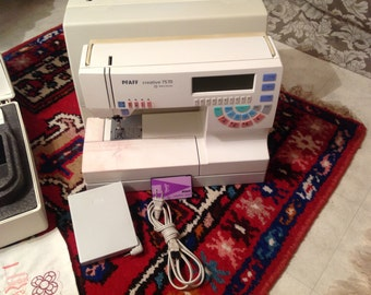 PFAFF 7570 Sewing/Embroidery Machine