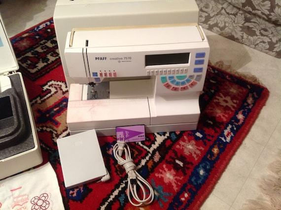 pfaff 7570 embroidery machine
