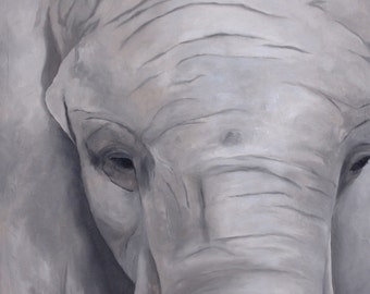 Elephant serie - No.. 3 - 24 x 36 in.