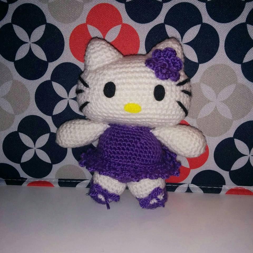 Hello kitty ballerina amigurumi doll - Ballerine hello kitty ...