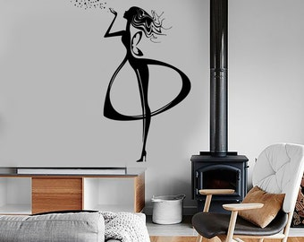 Wall Vinyl Decal Fairy Fairytale Stars Fantasy Amazing Cool Bedroom Decor 1382dz