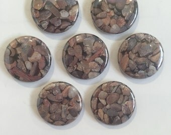 Rock Magnets - set of 7