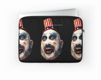 Captain Spaulding Laptop Sleeve! House of 1000 Corpses - Multiple Sizes Available!