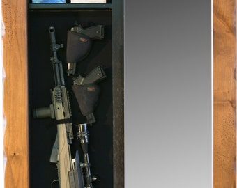 Hidden Storage Full-Length Mirror - Firearms or Jewelry
