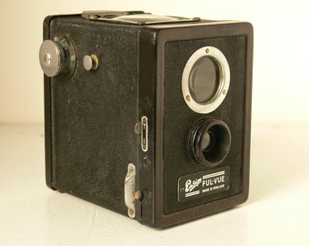 Vintage Ensign Ful-Vue Early 1940s Model- British Made - The Predecessor To A Very Iconic Camera