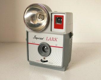 Imperial Lark 127 4x4 Camera - Vintage Camera 1960s - Retro Display Item