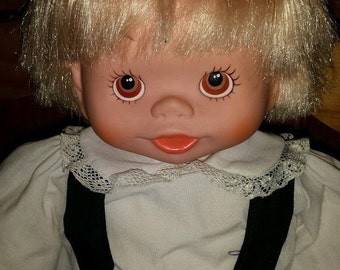 "Vintage RARE / Beautiful Boy Doll 18"" TALL"