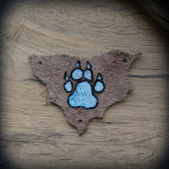 Blue Paw Print Purse 51