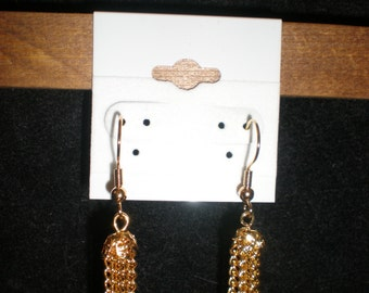 Gold Chain Drops