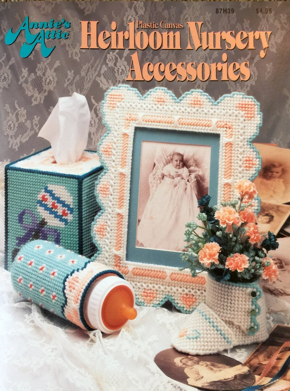 Annie S Attic Plastic Canvas Heirloom Nursery Accessories