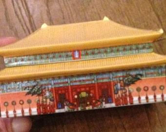 Japanese Style Music Box. Wind Up Musical Box.