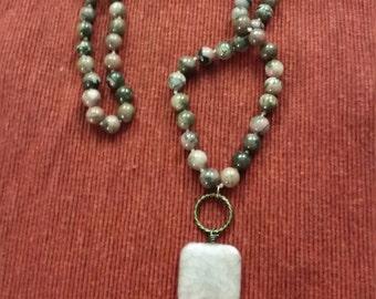 Beaded Necklace, Upcycled Necklace, Upcycled Jewelry, Repurposed Jewelry, Repurposed Necklace, Unique Necklace, Nostalgic Necklace,