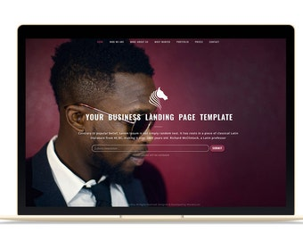 Website Template - Multipurpose Website Template, HTML Website, Clean Website Template