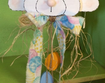 Bunny with Egg Hanger