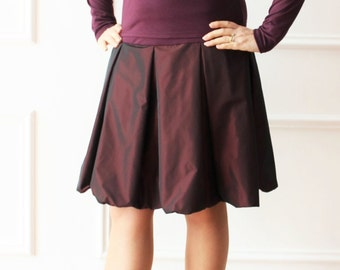 Knit top, top fashion, top bordeaux, elegant top, top fashion, top glamour,