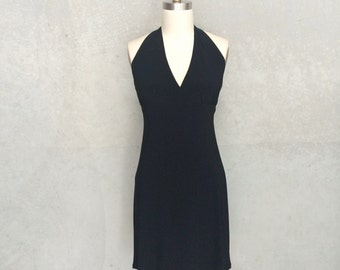 Noel dress:party dress, halterneck dress