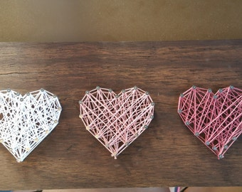 String Art/Heart String Art/String Art Ombre