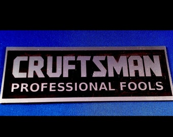 "Toolbox Emblem - Fun With ""Crafts**n"" Tool Company"
