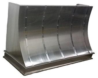 stainless steel kitchen hood