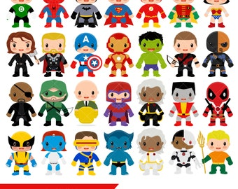 Superhero Clipart / Super Hero Clip Art
