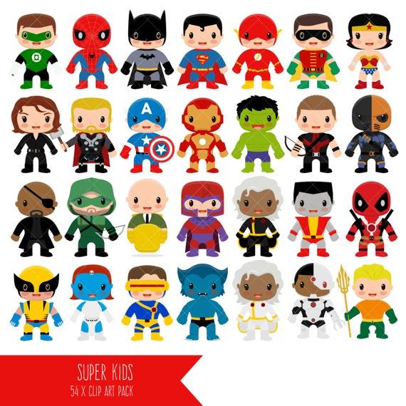 Superhero Clipart / Super Hero Clip Art