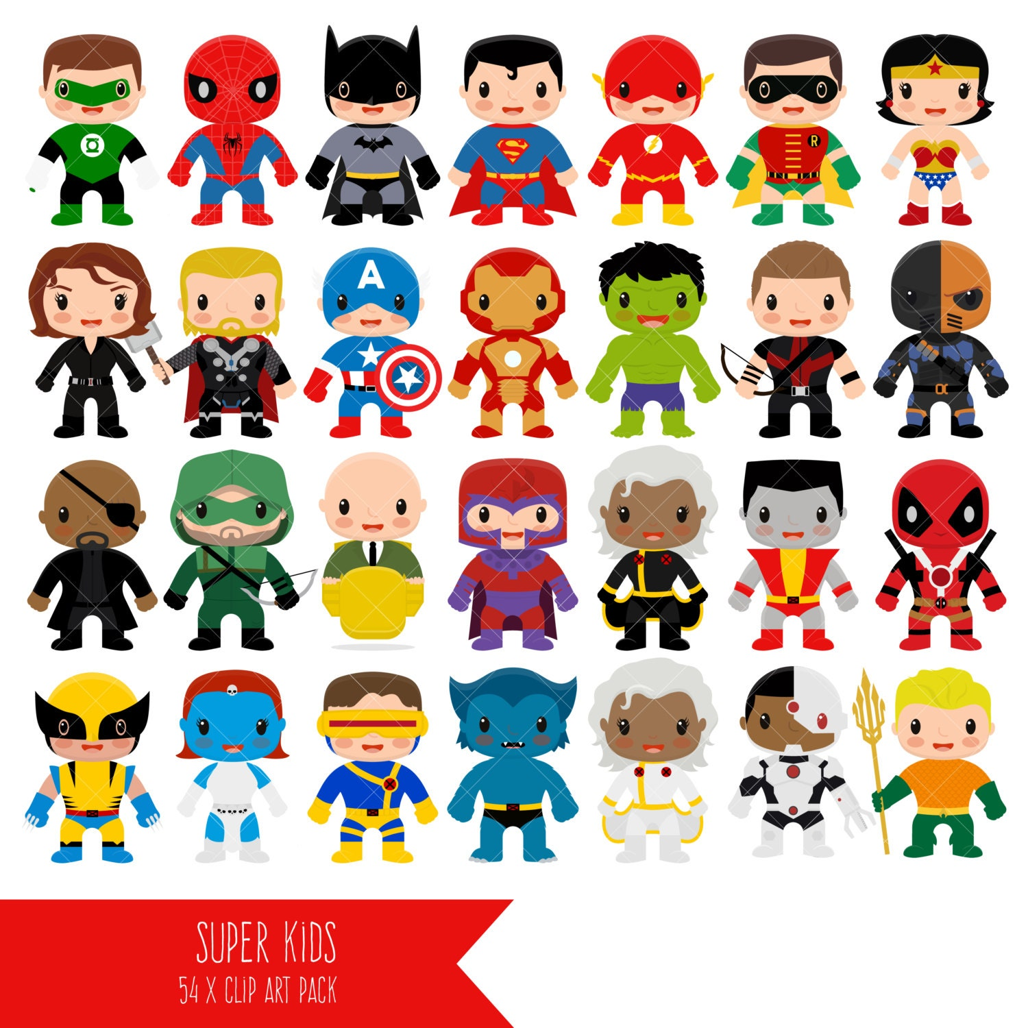 Superhero Clipart Super Hero Clip Art