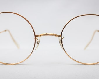 Real Gold Glasses Frames : 12k glasses Etsy