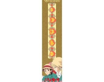 Lace Bracelet / Howl's Moving Castle Studio Ghibli / Calcifer