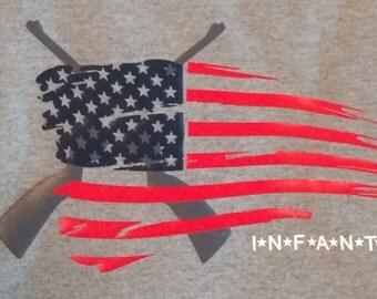 Cross Rifle Infantry T-Shirt