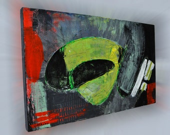 Abstract Painting, Acrylic Art, Wall Art, Modern Wall Art, Acrylic Abstract Art, Large Abstract Art, Stretched Linen, Acrylic Painting