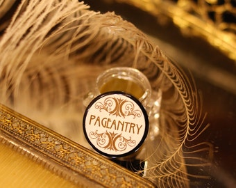 Solid Perfume PAGEANTRY - Rose Clove Myrrh Frankincense Sandalwood essential oil perfume - botanical perfume - by Theater Potion