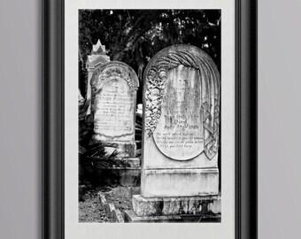 Grave Stones, Georgia Cemetery