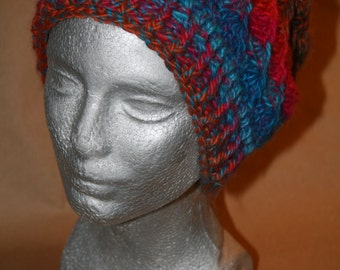 Spiraling Slouchy Hat