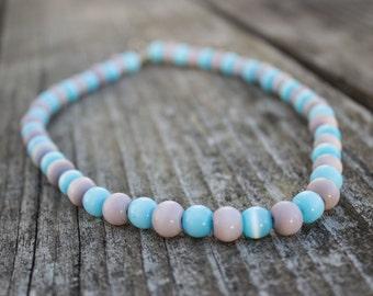 Robin Egg Blue Necklace