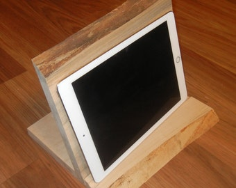 Live edge Ipad or tablet stand, Maple!