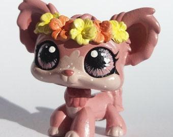 Lps chihuahua flower crown custom!