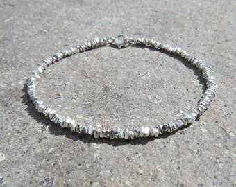Karen Hill Tribe Silver Beaded Bracelet